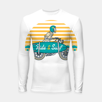 Ride and Surf Longsleeve rashguard  thumbnail image