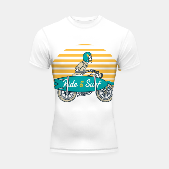 Ride and Surf Shortsleeve rashguard thumbnail image
