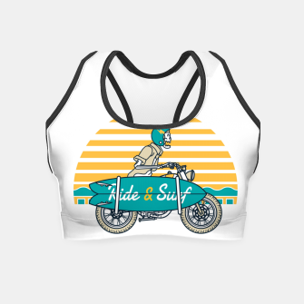Ride and Surf Crop Top thumbnail image