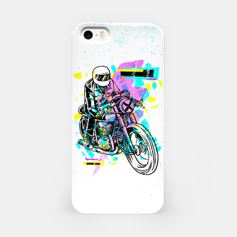 Pop Biker iPhone Case thumbnail image