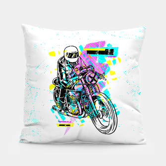 Pop Biker Pillow thumbnail image