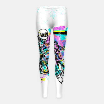 Pop Biker Girl's leggings thumbnail image