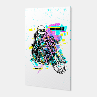 Pop Biker Canvas thumbnail image