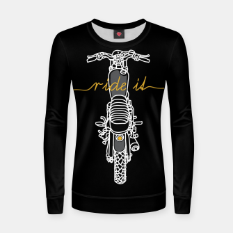 Ride it Women sweater thumbnail image