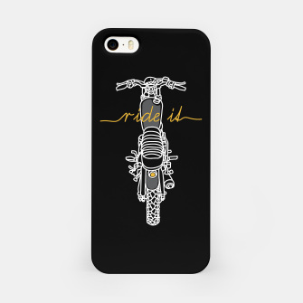 Ride it iPhone Case thumbnail image