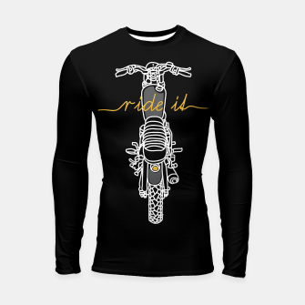 Ride it Longsleeve rashguard  thumbnail image