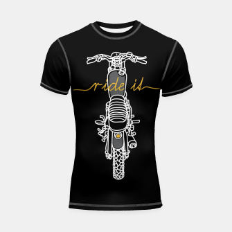 Ride it Shortsleeve rashguard thumbnail image