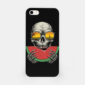 Watermelon Skull iPhone Case thumbnail image