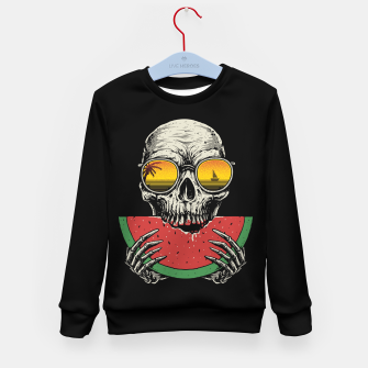 Watermelon Skull Kid's sweater thumbnail image