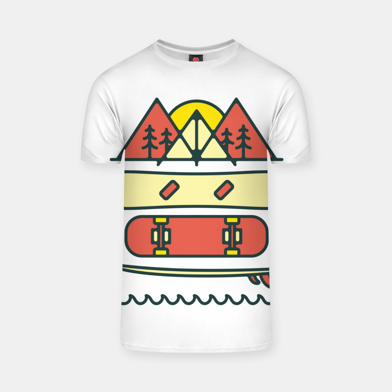 Image of Outdoor Style T-shirt - Live Heroes