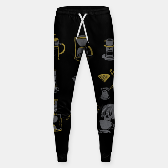Thumbnail image of Coffee Equipment Sweatpants, Live Heroes