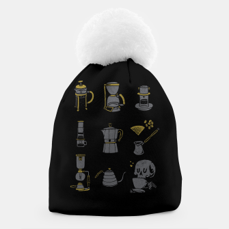 Thumbnail image of Coffee Equipment Beanie, Live Heroes