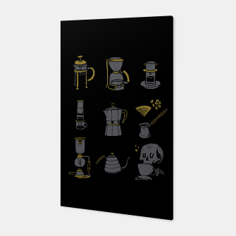 Thumbnail image of Coffee Equipment Canvas, Live Heroes