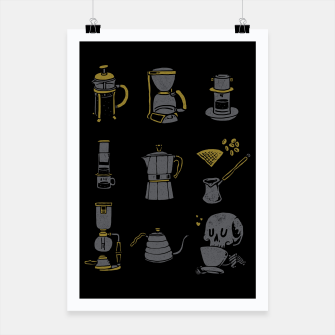 Thumbnail image of Coffee Equipment Poster, Live Heroes
