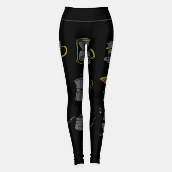 Thumbnail image of Coffee Equipment Leggings, Live Heroes