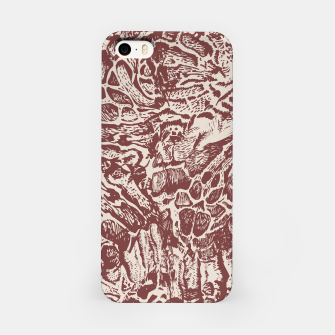 Miniatur Jaguars fur pattern iPhone Case, Live Heroes