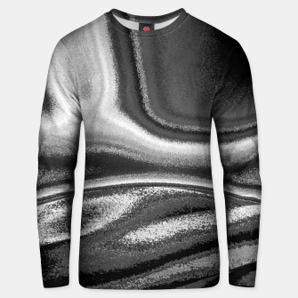 Miniatur Black and White Waves Unisex sweater, Live Heroes