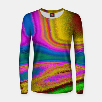 Miniatur Colorful Waves Women sweater, Live Heroes