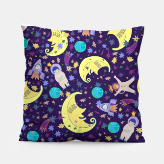 Thumbnail image of Moonlight design Pillow, Live Heroes