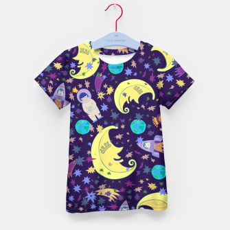 Thumbnail image of Moonlight design Kid's t-shirt, Live Heroes