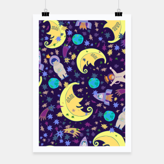 Thumbnail image of Moonlight design Poster, Live Heroes