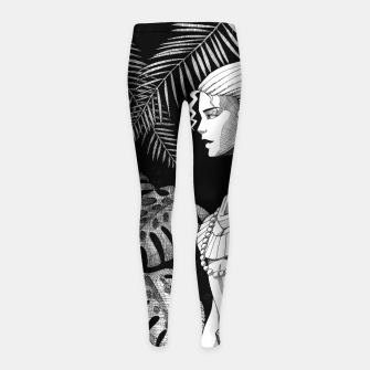 Miniature de image de Jungle Girl Girl's leggings, Live Heroes