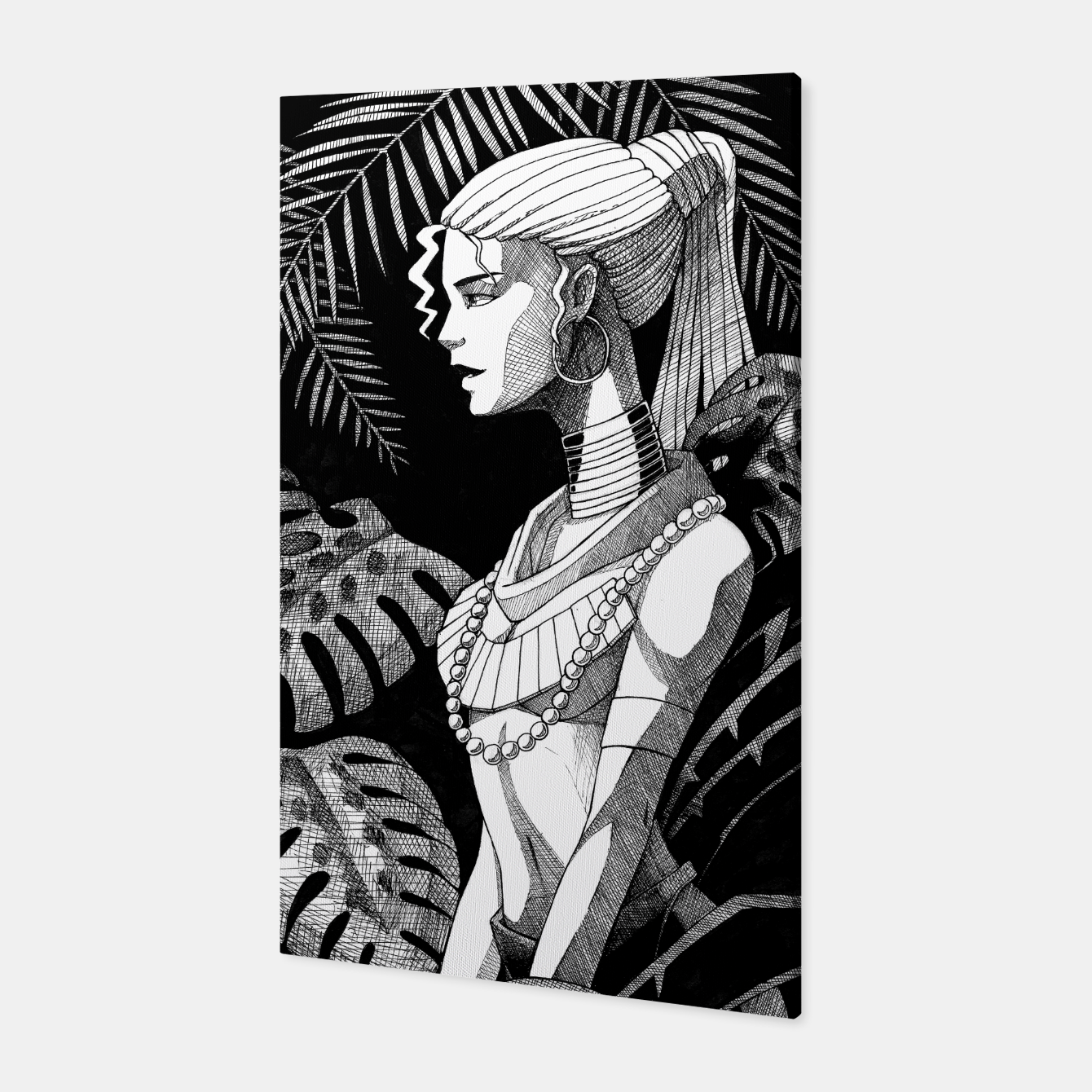 Image of Jungle Girl Canvas - Live Heroes