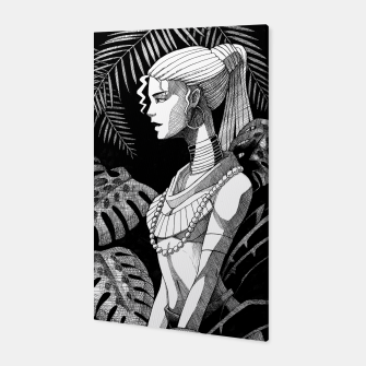 Miniature de image de Jungle Girl Canvas, Live Heroes