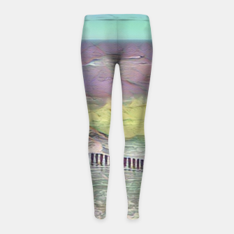 Thumbnail image of baltic see pastel color Legginsy dziewczęce, Live Heroes