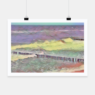 Thumbnail image of baltic see pastel color Plakat, Live Heroes