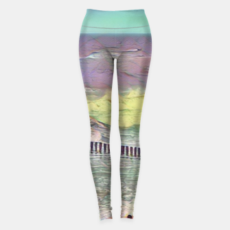 Thumbnail image of baltic see pastel color Legginsy, Live Heroes
