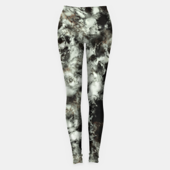 Thumbnail image of Grey footprints Leggings, Live Heroes