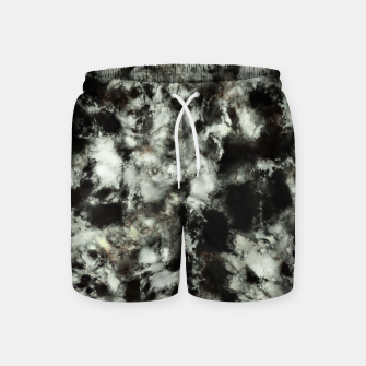 Miniatur Grey footprints Swim Shorts, Live Heroes