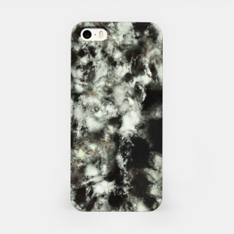 Miniatur Grey footprints iPhone Case, Live Heroes