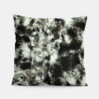 Miniatur Grey footprints Pillow, Live Heroes