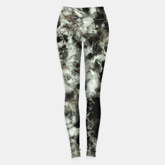 Miniatur Grey footprints Leggings, Live Heroes