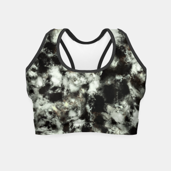 Miniatur Grey footprints Crop Top, Live Heroes