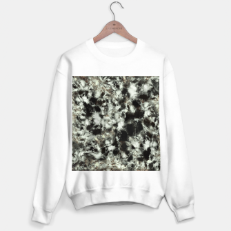 Thumbnail image of Grey footprints Sweater regular, Live Heroes