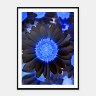 Thumbnail image of Flowers in Black Framed poster, Live Heroes
