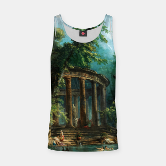 Thumbnail image of The Bathing Pool by Hubert Robert Tank Top, Live Heroes