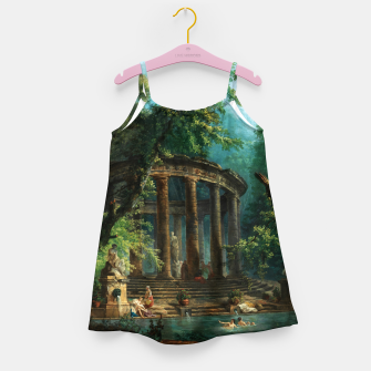 Thumbnail image of The Bathing Pool by Hubert Robert Girl's dress, Live Heroes
