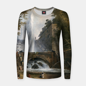 Stair and Fountain in the Park of a Roman Villa Women sweater thumbnail image