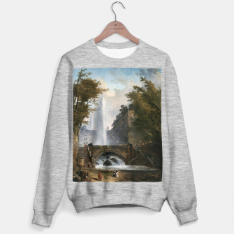 Stair and Fountain in the Park of a Roman Villa Sweater regular thumbnail image