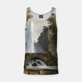 Thumbnail image of Stair and Fountain in the Park of a Roman Villa Tank Top, Live Heroes