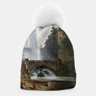 Thumbnail image of Stair and Fountain in the Park of a Roman Villa Beanie, Live Heroes