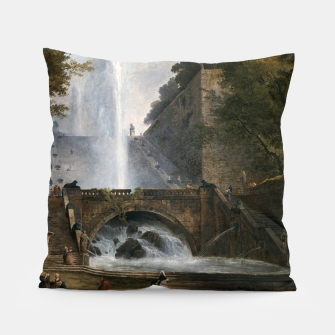 Thumbnail image of Stair and Fountain in the Park of a Roman Villa Pillow, Live Heroes