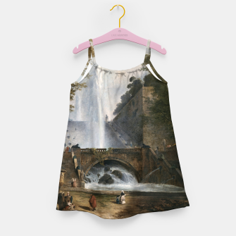 Thumbnail image of Stair and Fountain in the Park of a Roman Villa Girl's dress, Live Heroes