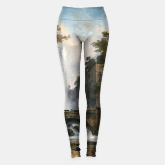 Thumbnail image of Stair and Fountain in the Park of a Roman Villa Leggings, Live Heroes