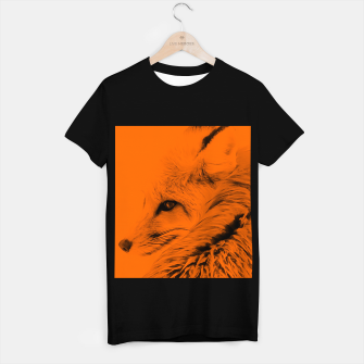 Thumbnail image of red fox digital acryl painting acrob T-shirt regular, Live Heroes