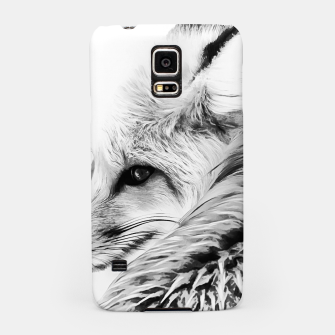 Thumbnail image of red fox digital acryl painting acrbw Samsung Case, Live Heroes